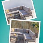 Retoque fotográfico de muebles de jardín